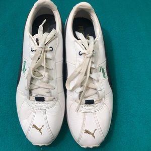 Puma  Women's Turin Sneaker White/Navy Sz 10